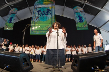 Gospel Tent, New Orleans Jazz and Heritage Festival