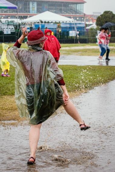 Rain Dance, New Orleans Jazz & Heritage Festival
